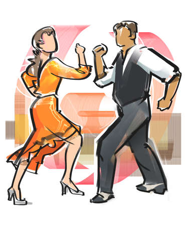 Dance - Mambo Stock Photo