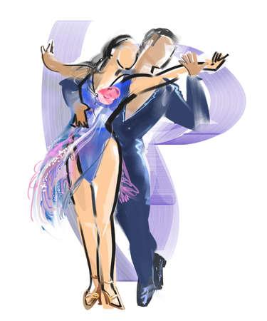 Dance - Samba Stock Photo - 56817714