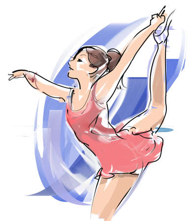 Figure skating Stock Photo - 56817859