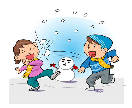 snowball: Snowball fight
