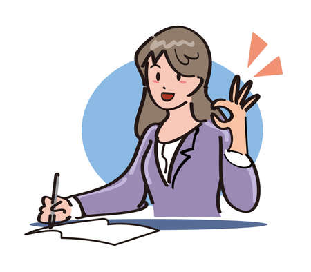 flawless: Office Lady - flawless Stock Photo