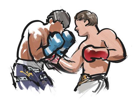 knockdown: Body blow