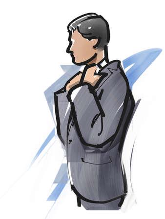salaried: Suit up