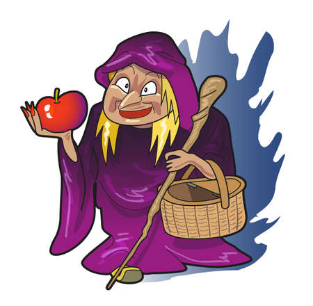 snow white: Grandmother of the witch
