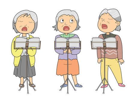 sings: Chorus