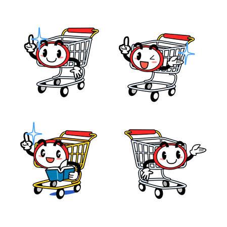 Anthropomorphic cart