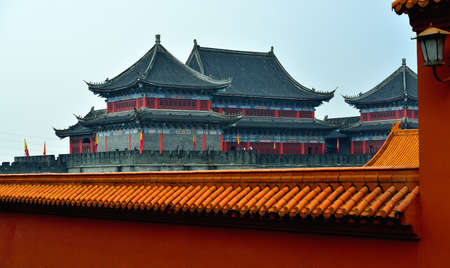 chinese courtyard: the Imperial palace Editorial