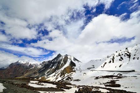 Tianshan Mountains in Xinjiang