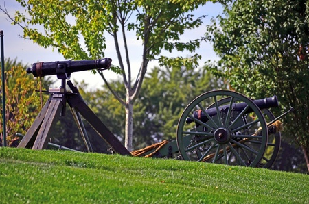 reenactment re enactment: Civil War Cannons