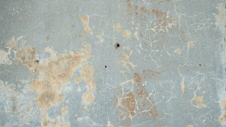 stripped the old grey wall plaster with holes, cracks, old castle