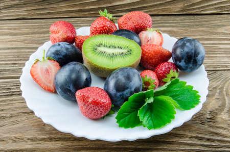 fruitschaal: fruit