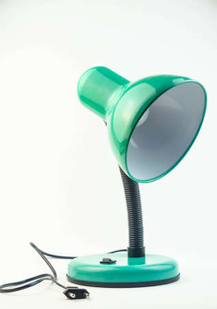 lampshades: Table lamp for reading Stock Photo