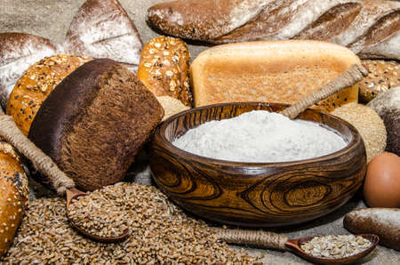 bakery products: A variety of bakery products