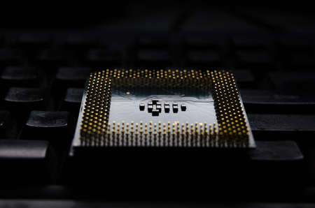 microprocessors: Old CPU on light