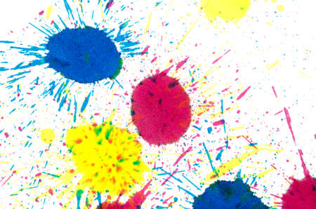 blots: Blots on the white background