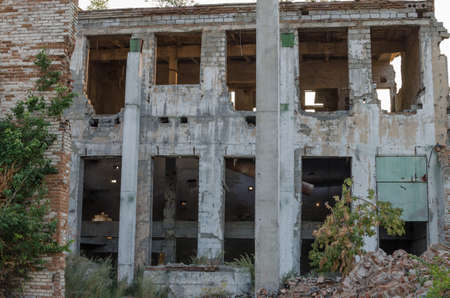 ruined: Old ruined factory.