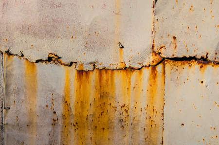Texture of rusty metal.