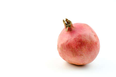garnets: Ripe pomegranate fruit.