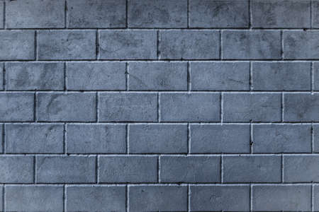 Background of smoothly laid cinder blocks. Wall of bricks. Stock fotó