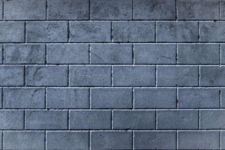 Background of smoothly laid cinder blocks. Wall of bricks. Stok Fotoğraf