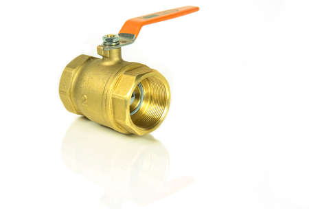 stop gate valve: Bass valve for use in the plumbing system