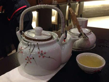 soup pot: Japanese style tea pot and soup pot.