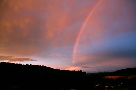 the end of a rainbow: final del arcoiris