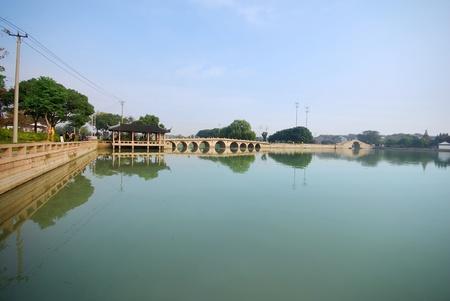 china suzhou old bridge Editorial