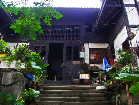 china chongqing ciqikou old town