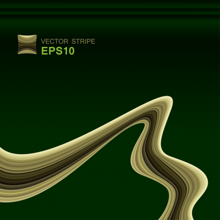 abstract lines or waves used as background Illustration