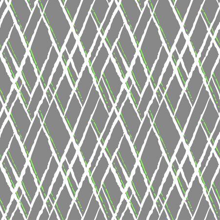 Seamless  pattern with hand drawn irregular lines. Illustration