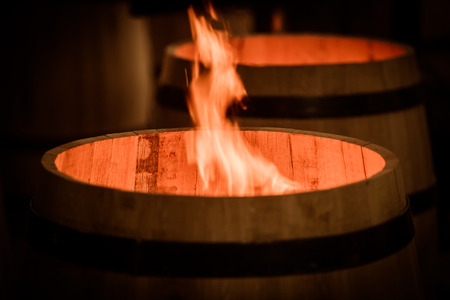 wineyard: Barrel Making in Bordeaux Wineyard