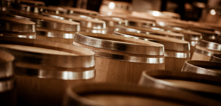 Barrel Making in Bordeaux Wineyard