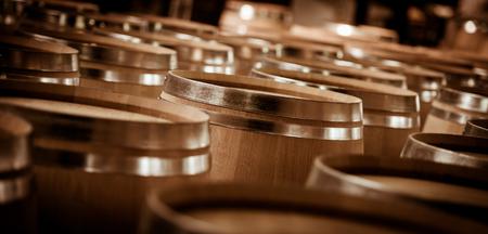 Barrel Making in Bordeaux Wineyard Stock Photo - 52238560