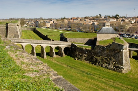 Blaye citadel, France, Europe, Travel, Gironde, Vauban Stock Photo - 55458603