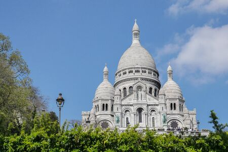 hallowed: Sacred Heart Sacre Coeur Church in Montmartre, Paris, France