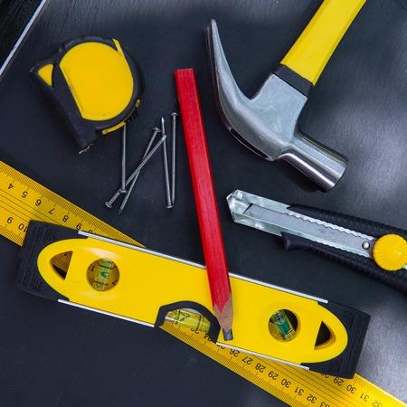 skills diversity: Carpenters Tools on Table