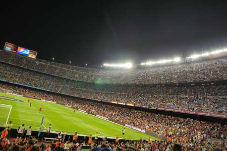 Barcelona, Nou Camp, football stadium, Spain