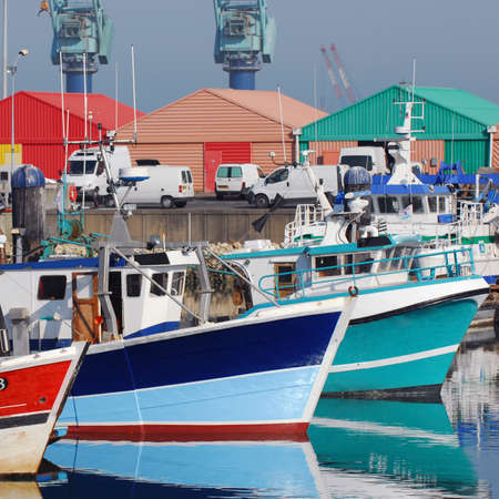 saint nicolas: Port La Rochelle a day of Summer, France, Europe