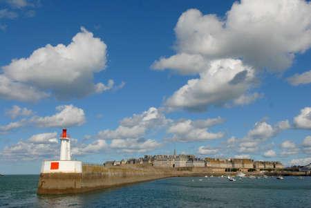st malo: Saint-Malo ,Coastal town, Britain, France, Europe, harbor