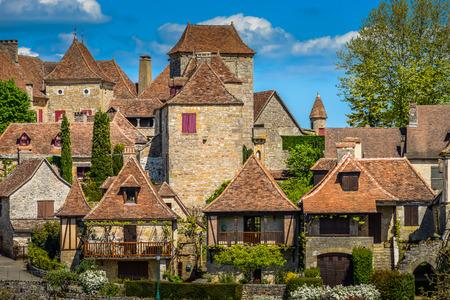 Loubressac most pictorial villages of france lot region, Europe