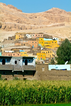 Egypt, Nile Valley, Luxor area, Thebes, Valley of the Nobles