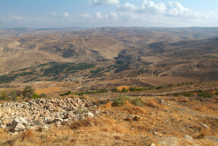 View from Nebo mountain to the Land of Promised