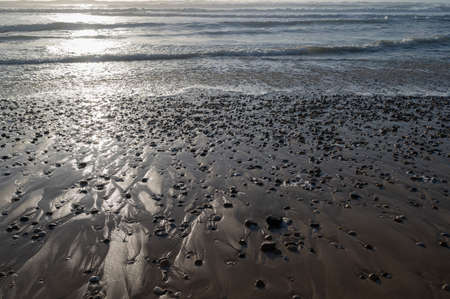 ATLANTIC COAST, CARCANS BEACH, SMALL SWIMMING STATION ON THE FRENCH ATLANTIC COAST, NEAR LACANAU AND BORDEAUX