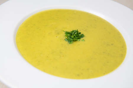 Recipe, soup, zucchini soup with Indian flavors, curcumin, curry
