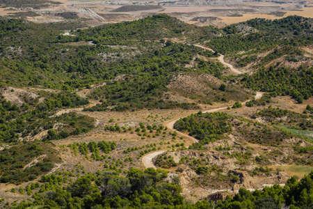 Spain, Navarre, Arguedas, Bardenas Reales desert, natural park classified as Biosphere Reserve
