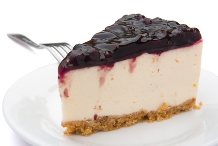 blue berry cheese cake