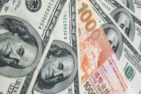 US dollars vs HK dollars