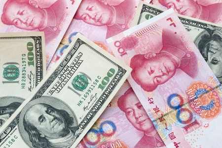 redemption of the world: USD and RMB
