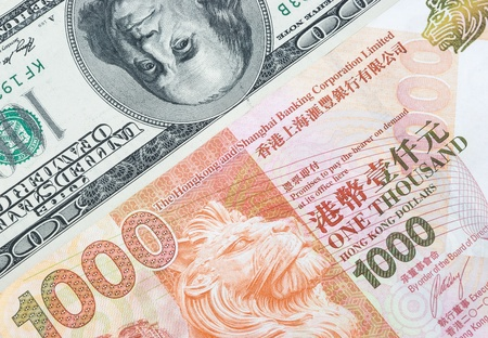 redemption of the world: USD vs HKD